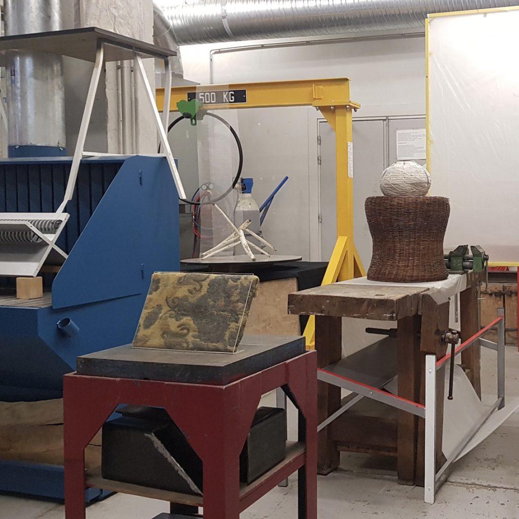 atelier métal ESAD Orléans